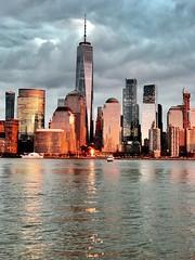 NYC sunset (m_big_b) Tags: hudsonriver sunset nyc skyline