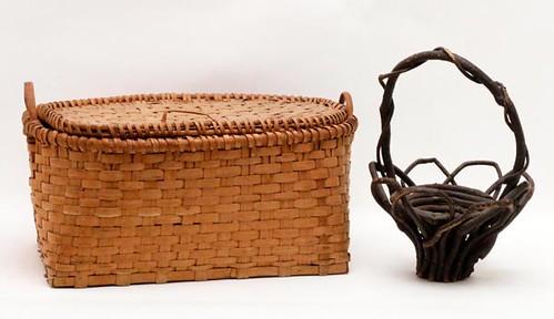 Splint Oak basket with lid ($ 179.20)