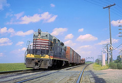 CB&Q SD9s 443 (Chuck Zeiler48Q) Tags: cbq sd9s 443 burlington railroad emd locomotive altona train chuckzeiler chz