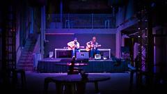 Singing into the silence (Jim Nix / Nomadic Pursuits) Tags: austin texas jimnix nomadicpursuits downtown singers band music sonya7ii 50mmf18 primelens evening bar lightroom