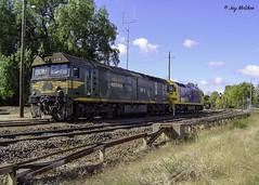 Bright Bandiana (Jay McGhee) Tags: pacificnational freightaustralia railway australianrailways railwaysofaustralia victorianrailways freighttrain locomotive overhaul rpauvicgclass2 rpauvicgclass2g540 melbourne albury wodonga oldwodongarailway bandiana victoria