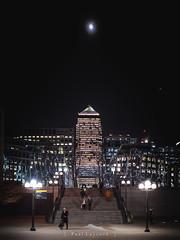 Canary Wharf (amipal) Tags: 175mm canarywharf capital city england europe gb greatbritain lightfestival london manuallens night uk unitedkingdom urban voigtlander