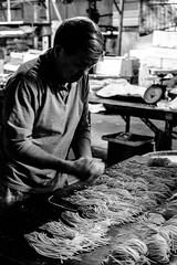 The Noodle Maker (jeremy_d_smith) Tags: fuji fujifilm fujinon fujixseries xseries xt1 fujixt1 xf35mm taiwan kaohsiung noodles people mood moody market street streetphotography urban