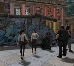 We don't like walls! (anna.ergenthal) Tags: secondlife fashion mode moda beauty sexy ootd