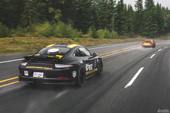 Porsche 911 R (Dylan King Photography) Tags: porsche 911 912 964 993 996 997 991 gt3 rs r rwb rauhwelt begriff rauhweltbegriff rain sea sky vancouver whistler bc british columbia canada rolling wet