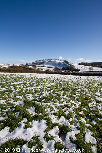 A walk by Castle and Morebath Hills from  Bampton