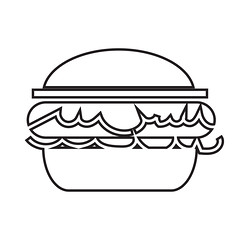 Burger icon (www.icon0.com) Tags: burger icon graphic food isolated meal beef vector sign symbol element shape illustration eat hamburger lunch sandwich cheese calorie art bread pictogram nutrition meat fast
