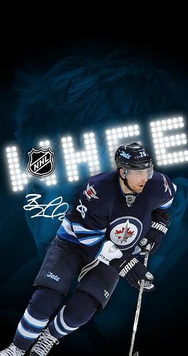 26 Blake Wheeler Winnipeg Jets Iphone 678 Wallpaper A