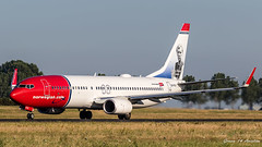 Norwegian B737 (Ramon Kok) Tags: 18r36l 36l 737 737800 737ng ams avgeek avporn aircraft airline airlines airport airways amsterdam amsterdamairportschiphol ariplane aviation b738 boeing boeing737 boeing737800 d8 eham eifvt holland ibk norwegian norwegianair norwegianairinternational polderbaan runway36l runway36l18r schiphol schipholairport thenetherlands vijfhuizen noordholland nederland nl