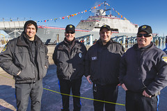 20181215_Y5A8674_m (LCS Team Freedom) Tags: 2018 christening lcs lcs19 launch littoralcombatship marinette shipyard stlouis usnavy usn wi wisconsin
