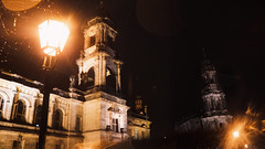 Dresden (dieforice) Tags: building night architecture raining sonya6000 church dresden germany light