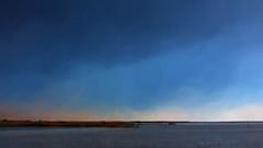 the lake at 70 mph (boriches) Tags: trumanlake fisherman missouri storm