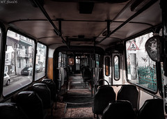 Interior of an old Ikarus (WT_fan06) Tags: cityscape urban street photography nikon d3400 dslr nikkon 7dwf flickr coth5 public transportation ikarus 280 ploiesti tce bus orange oldtimer retro vintage 2189