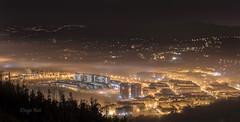 Oviedo (Diego Rai) Tags: night nightscape longexposure oviedo asturias noche luces ciudad city fog niebla nightphotography nocturna