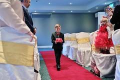 An Irish Wedding (lemonteajunkie) Tags: ireland uk gb wedding marriage love family irish ennis aisle kids bridesmaids pageboy suit boy