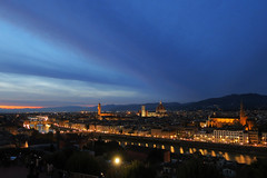 IMG_47751 (AnnaPuz) Tags: italy nature light florence toscany sunset landscape duomo river