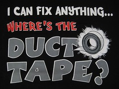 I Can Fix Anything T-Shirt (wpgtshirtguy) Tags: duct tape fix anything tshirt shirt funny sayings fun wit witty humor humourous comical