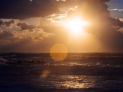 P1081132 (mr. Wood) Tags: ep5 computar olympus cyprus paphos larnaca mediterranian waves sunset sea water sky