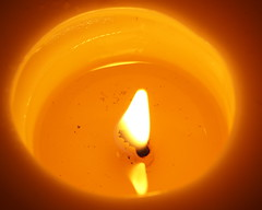 Candlelight (lenswrangler) Tags: lenswrangler digikam candle wax heat flame flickrfriday macro