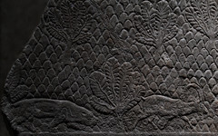 Lioness stalking goat (PChamaeleoMH) Tags: assyrian britishmuseum exhibition frieze london museum relief
