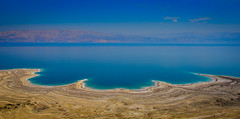 Panorama view of The Dead Sea from along Route 90 in the West Bank (mbell1975) Tags: 2018 westbank palestine ps panorama view the dead sea from along route 90 west bank israel il middleeast middle east deadsea meer pano panoramic vista shoreline shore lake jordan river blue water