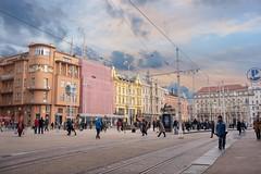 (Yvan Rouxel) Tags: banjelacicsquare cityofzagreb croatia january wpcroatia winter zagreb hrv