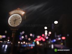6:09 in Saratoga Springs (john bulmer) Tags: street photography saratoga saratogasprings newyork clock