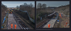 Another Civil Engineers day out, now Blackburn Meadows & Oil Train at Masbrough - 0334+342 (Views in Camera) Tags: holmesjunction blackburnmeadows masbroughstation freightliner class66 66605 66505 6t51 belmontdownyardtomasbroughjunction dbc dbshenkercargo 66054 6xxx belmontdownyardtoholmesjunction jnayellowboxwagons 66080 belmontdownyardtomasbrough mpaboxwagons 66100 6t53 masbroughjunctiontobelmontdownyard class60 60066 johnlogiebaird 6e68 kingsburyoilsidingstohumberoilrefinery draxpoweringtomorrow vtgtankwagons teatankwagons colasrail drc78226 heavydutytwinjibrailcrane txmplantltd roadrailexcavator northmidland wincobankjunction meadowhall wincobank networkraillinepossession signals0212 signals0213 signalfeather steelstreet rotherhamallsaintsparishchurch sheffieldsouthyorkshirenavigation holmeslock jordanlock wallmural eonblackburnvalleybiomass graffititags templeboroughbiomass holmeswestsidings doncatchmentriverstrust paintedwiththehelpfromtheyouthofrotherhamsheffield