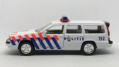 Cararama / Hongwell - Volvo Estate Politie - Netherlands Police Car -  Miniature Die Cast Metal Scale Model Emergency Services Vehicle (firehouse.ie) Tags: coche cars estate wagon holland car politie police vehicles vehicle volvo