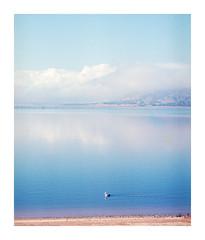 Lake Hume Clouds (G H Photography) Tags: ektar 100 mamiya rb67 lake albury pelican clouds