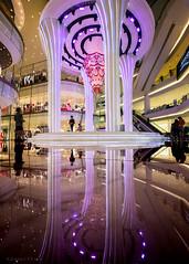 Reflections (Goran Bangkok) Tags: iconsiam bangkok thailand shopping mall reflection reflections tourism indoor mirror purple colorful colors