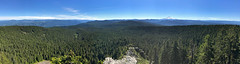 Larch Mountain at Columbia River Gorge in OR (landscapesinthewest) Tags: larch mountain columbia river gorge oregon landscape west panorama panoramic american pacific northwest