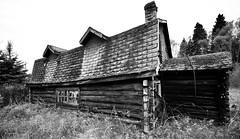 OLD ABANDONED HOME, MICHIPICOTEN RIVER VILLAGE, ONTARIO, CANADA, near WAWA, ACA PHOTO (alexanderrmarkovic) Tags: oldabandonedhome michipicotenrivervillage ontario canada nearwawa acaphoto