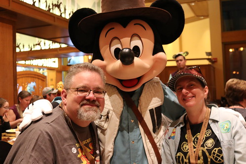 "Tracey and Scott with Mickey Mouse • <a style=""font-size:0.8em;"" href=""http://www.flickr.com/photos/28558260@N04/31108837357/"" target=""_blank"">View on Flickr</a>"