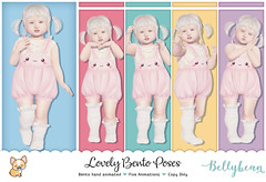 { Bellybean } Lovely Bento Poses AD (Bella Parker) Tags: bento toddleedoo secondlife toddleedoofair td tdevent tdposes bentopose slbento pose poses tdpose kawaiipose kawaii cute