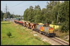 DBC 6490+Flls'en+Fas'en te Jastrzębie-Zdroj (MyronvRuijven) Tags: 6490 6400 db cargo polska polen geel grijs kwk jsw mijn zofiowka jastrzębiezdroj