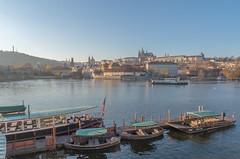 Vltava (tzalialiutdinov) Tags: pentax landscape prague praha vltava river oldtown прага чехия европа europe town