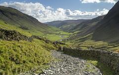 Longsledddale (l4ts) Tags: landscape cumbria lakedistrict longsleddale fareasternfells goatscar riversprint drystonewalls lane