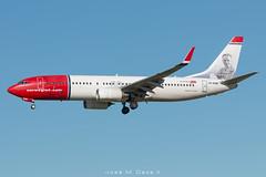 Norwegian B737-8JP LN-NGB (José M. Deza) Tags: 20181220 b7378jp bcn boeing elprat lebl lnngb norwegain planespotting spotter aircraft