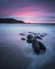 Resistance (Photo Lab by Ross Farnham) Tags: rocks colour f4 24105mm a7rii sony bluehour sunset beach ocean rossfarnham wales