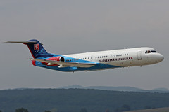 OM-BYC Fokker 100 Slovak Government Sliac 01st September 2018 (michael_hibbins) Tags: ombyc fokker 100 slovak government sliac 01st september 2018 aeroplane aviation aerospace aircraft airplane air aero airshow airfields airport airports aeroexpo plane planes jet jets military transport tactical strategic defence