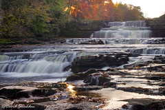 Lower Falls, Aysgarth (Dave Snowdon (Wipeout Dave)) Tags: davidsnowdonphotography canoneos80d autumn fall aysgarth wensleydale northyorkshire waterfall riverure yorkshiredales yorkshiredalesnationalpark landscape