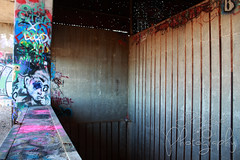 Echo Lake Incinerator 1.27.19.16 (jrbeckwith) Tags: echolakeincinerator 2019 photo picture jr beckwith jbeckr fortworth texas tx echo lake incinerator endangered danger old history historic abandoned left decay drug drugdealer graffiti girls shoot ruins