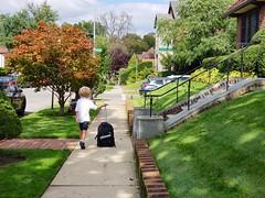 Everett On The Way Home From School (Joe Shlabotnik) Tags: cameraphone october2018 everett justeverett galaxys9 2018