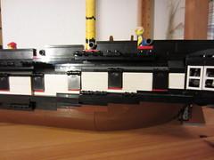 IMG_1259 (argo naut) Tags: lego 74 gun third rate ship line historical marine napoleonic era british empire model history bricks 32 frigate vessel rigging trafalgar waterloo