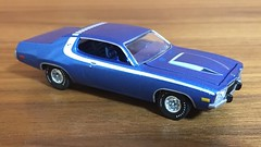 1973 Plymouth Roadrunner 1/64 Auto World (Eunus El Ya) Tags: american muscle car cars diecast toy model mopar plymouth dodge chrysler 164 roadrunner road runner 70s 1973 auto world round 2 malaise era 1970s luxury