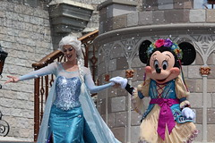 Mickey's Royal Friendship Faire at the Magic Kingdom (Hazboy) Tags: hazboy hazboy1 magic kingdom disney world september 2018 florida vacation characters show castle cinderella elsa minnie