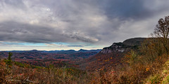 moody autumn panorama (McMannis Photographic) Tags: northcarolina destination highlands travel carolinas explore nc southeast tourism