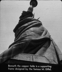 Statue of Liberty (foundin_a_attic) Tags: statue liberty truvue tru vue stereoscopic filmstrips national monument 1940