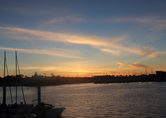 012 Marina Del Rey Clouds Aglow (saschmitz_earthlink_net) Tags: 2018 california marinadelrey boat parade marinadelreyboatparade christmasparty suez